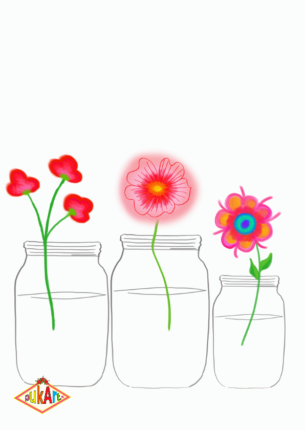 Geslaagd kaart bloemen PA 2