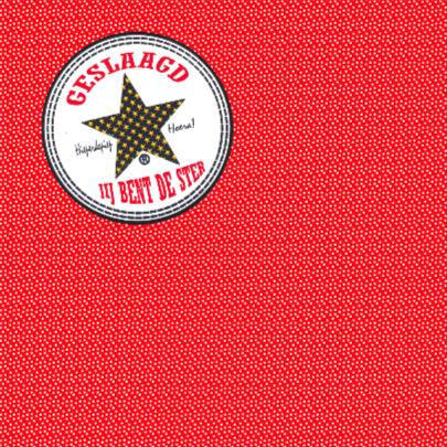 Geslaagd kaart Stip Ster PA 2