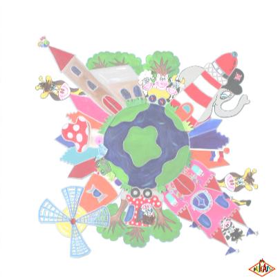 Geslaagd kaart Wereld PA 3