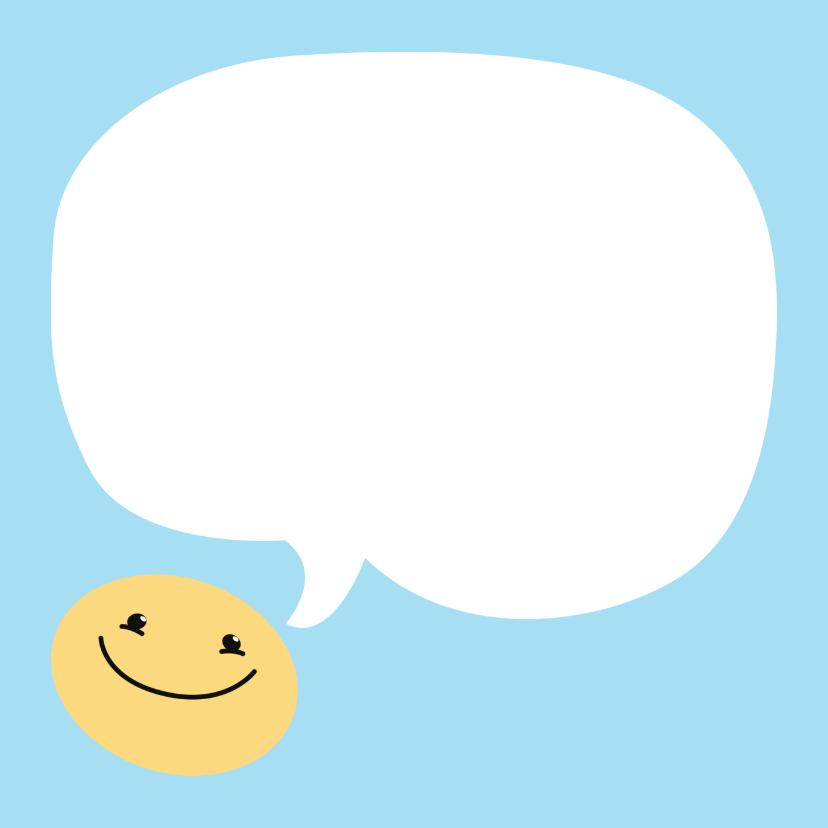 Geslaagd kaart zwemdiploma smile 3