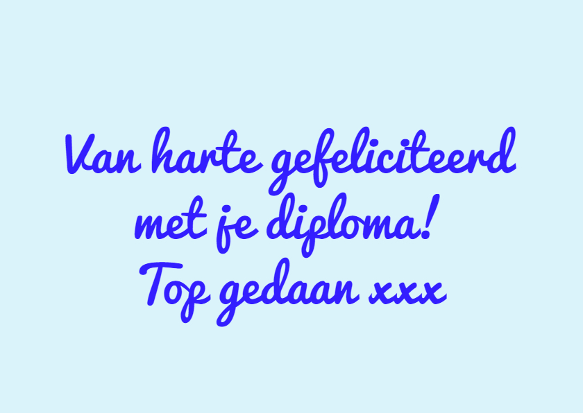 Geslaagd super diploma IW 2