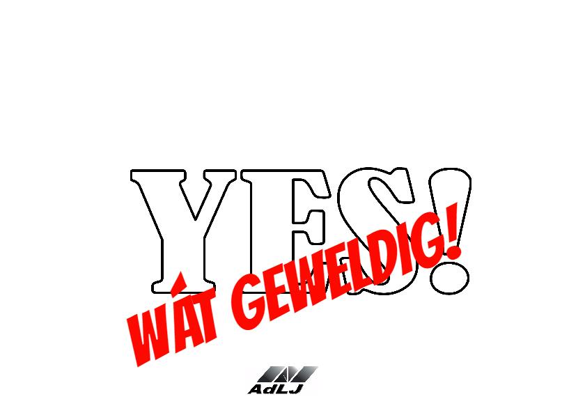Geslaagd Yes Vlaggen - AW 2