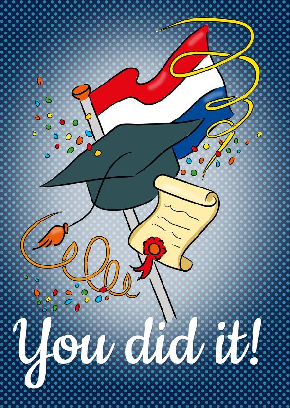 Geslaagd - You did it!