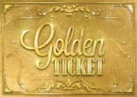 Uitnodigingen - Golden ticket
