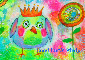 Coachingskaarten - Good Luck Birdy