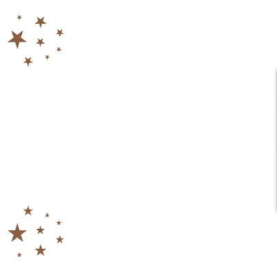 Gouden sterren met polaroid-isf 2