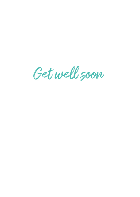 Greeting card with word search puzzle - 'Get Well Soon' 3