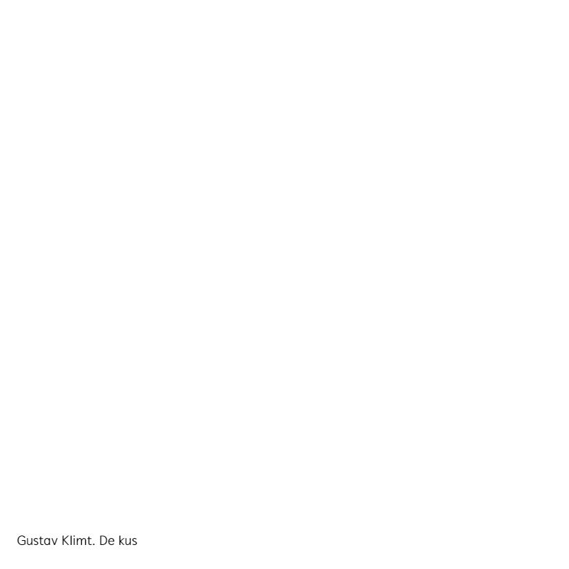 Gustav Klimt. De kus 2