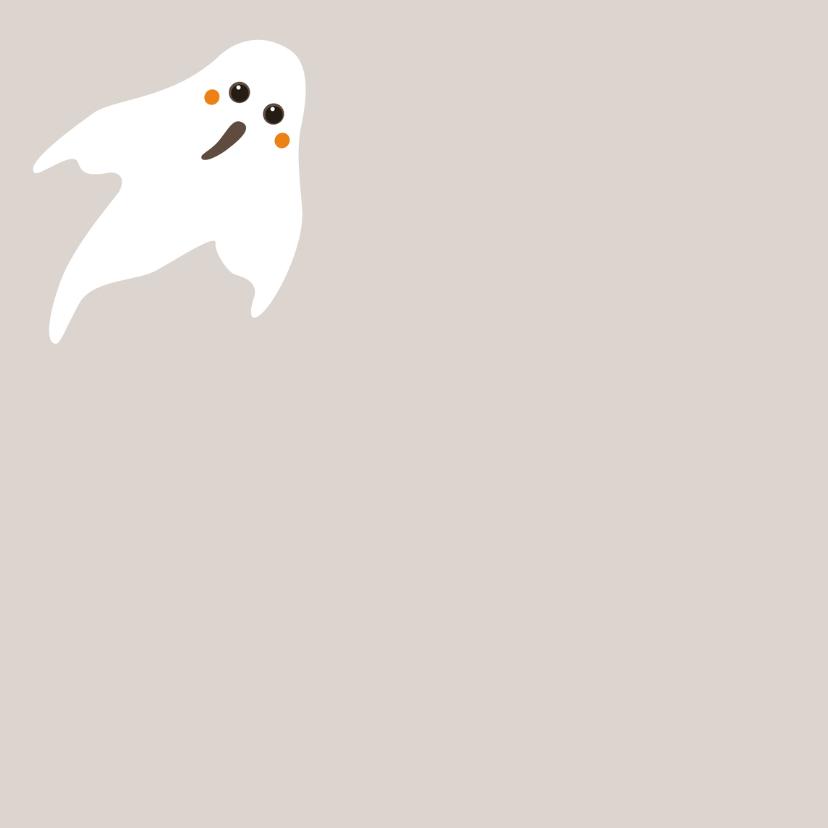 Halloween kaart Boo! - HB 2
