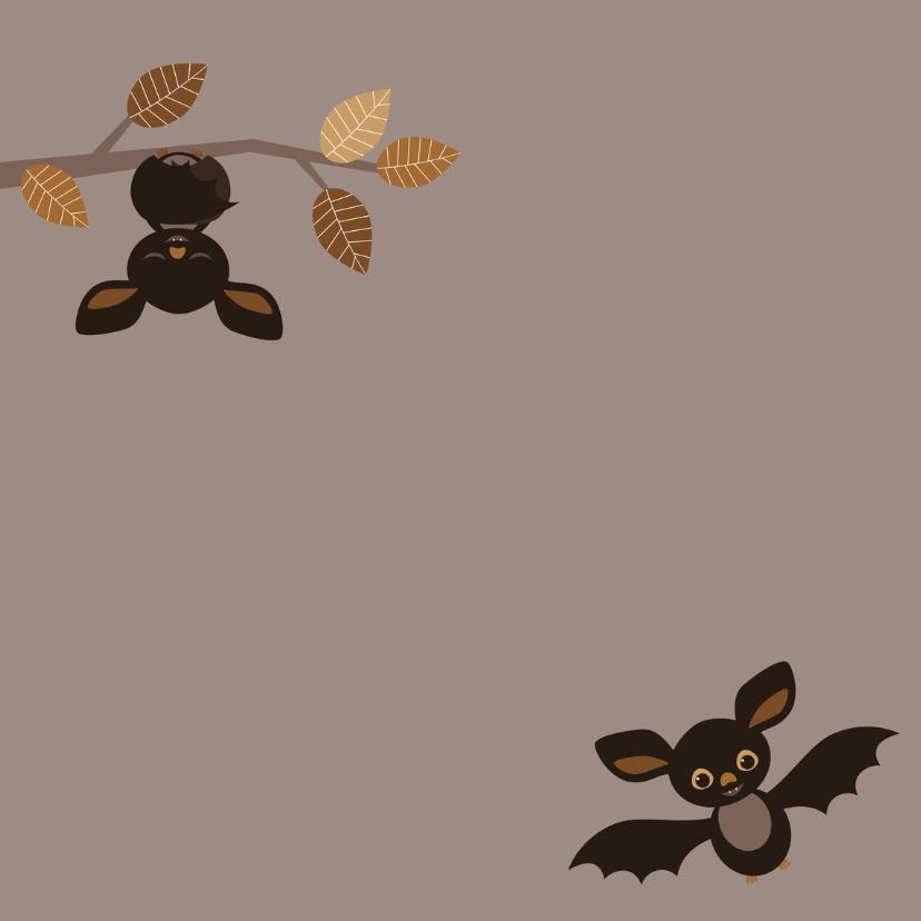 Halloween kaart Vleermuizen - HB 2