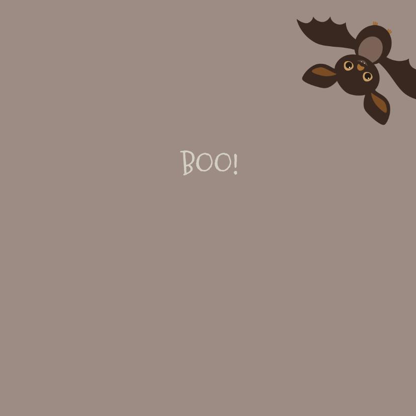 Halloween kaart Vleermuizen - HB 3