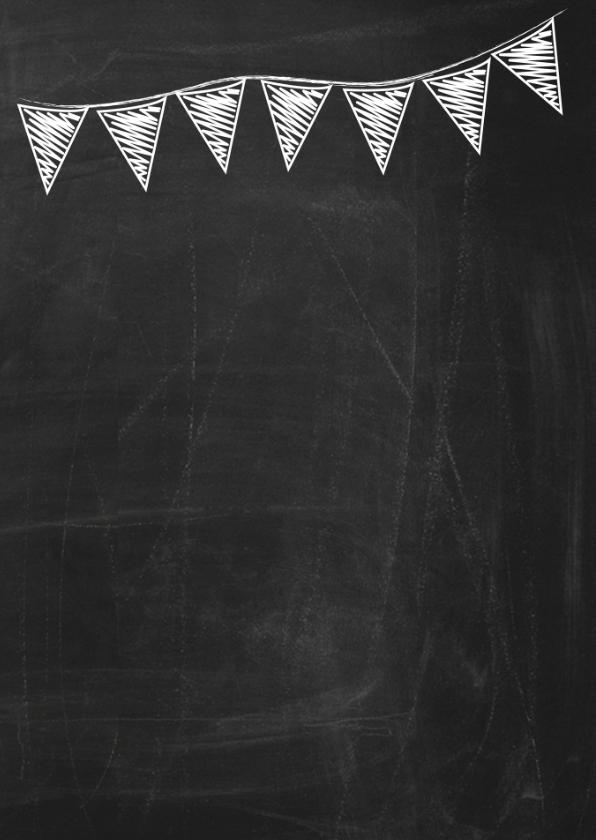 Happy B'day schoolbord vrouw ByF 2