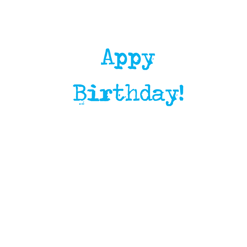 hAppy Birthday - app felicitatie 3