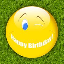 Verjaardagskaarten - happy birthday smile