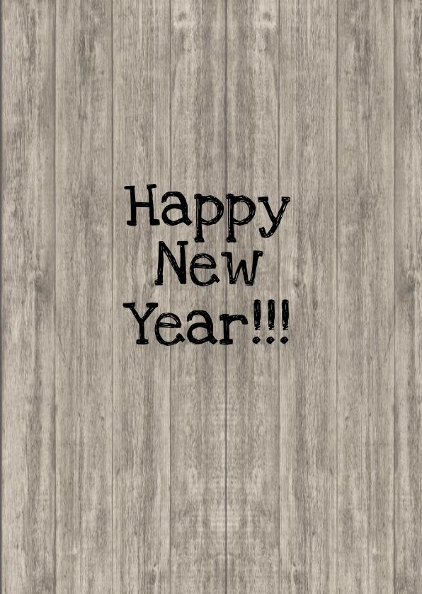 Happy New Year schoolbord 3