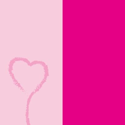 hart ballon geboorte meisje 2