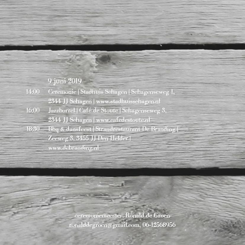 Hart slinger op hout print 2