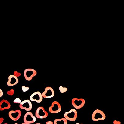 hartjes confetti - liefde 2