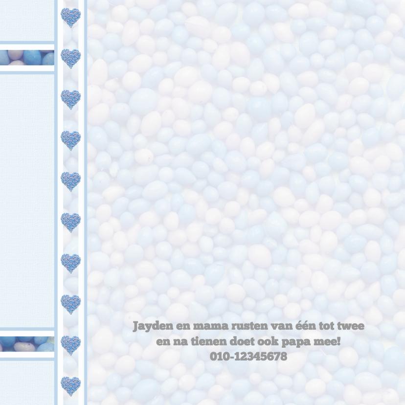 Hartjes met blauw-witte muisjes 2