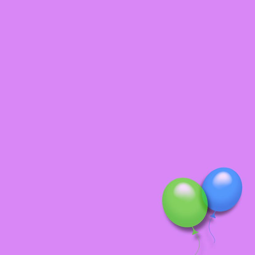 Het is feest smile ballonnen RB 3