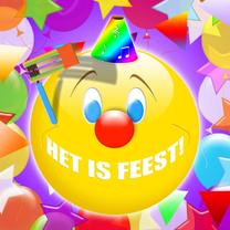 Het is feest smile ballonnen RB