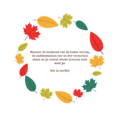 Het is herfst! - DH 3