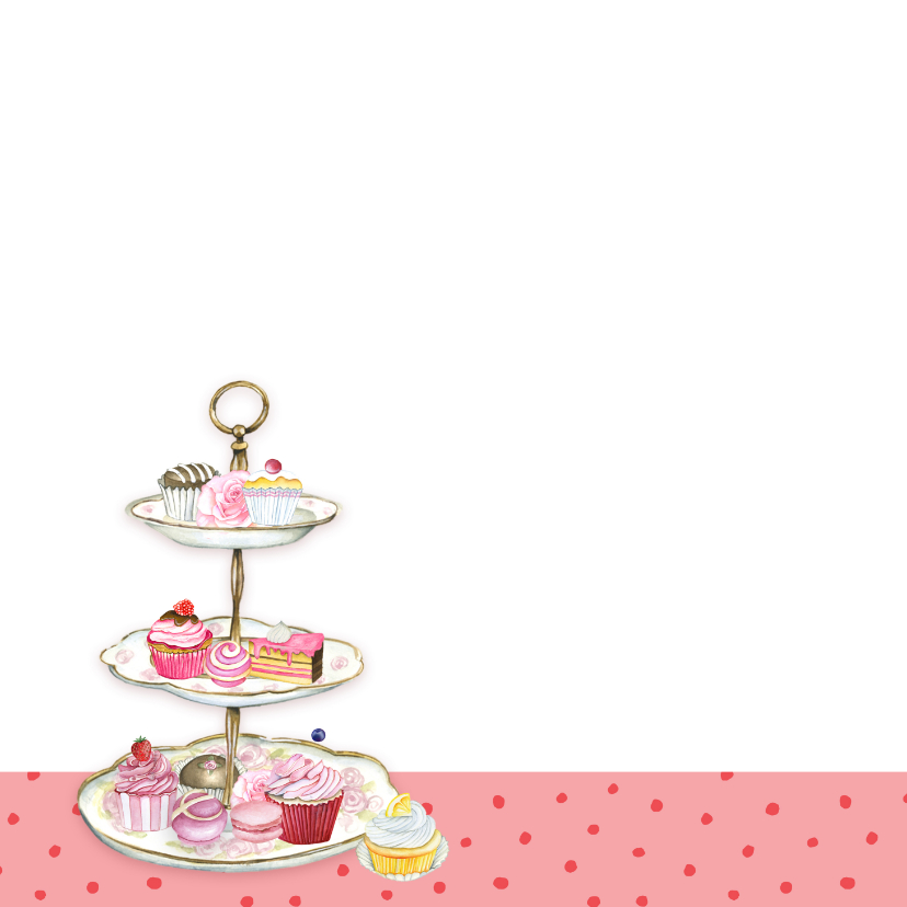 High Tea taartenstandaard 2