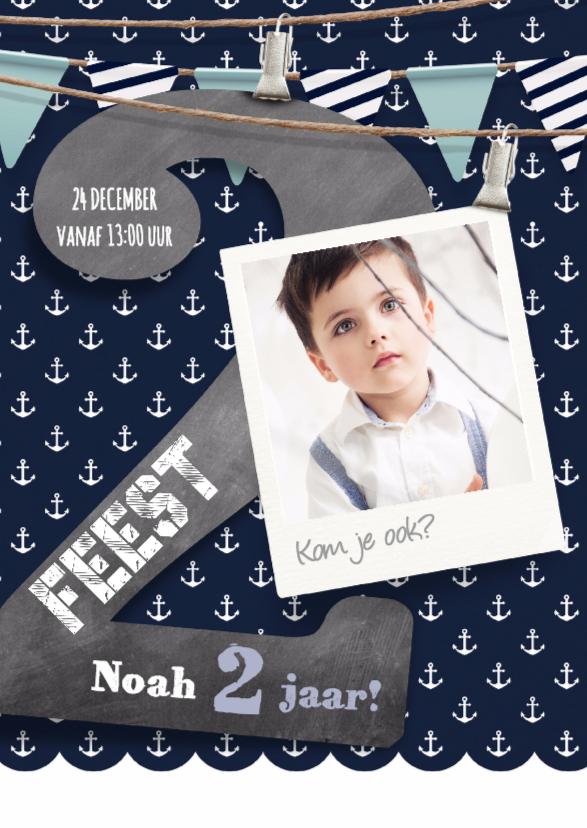 Hippe uitnodiging jongen 2 jaar kinderfeestjes kaartje2go for Poppenhuis kind 2 jaar