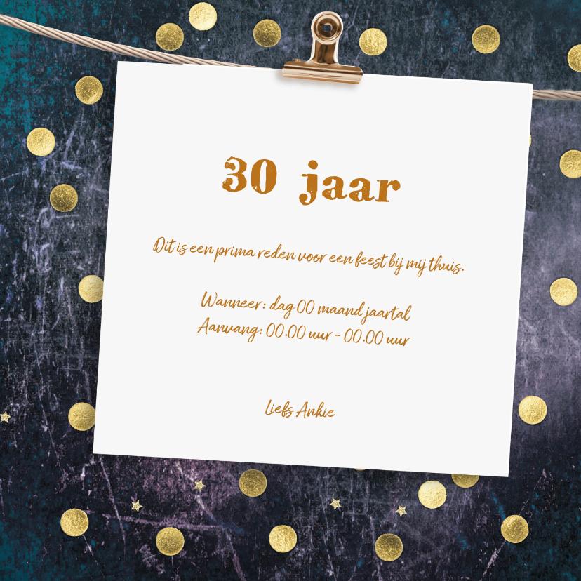 hippe uitnodiging met slinger 3