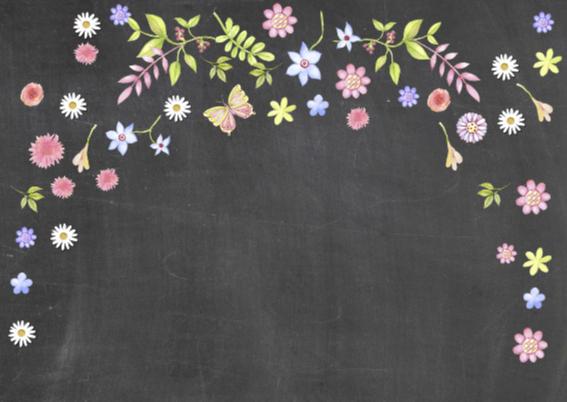 Hoera jarig schoolbord 2
