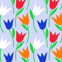 Bloemenkaarten - Hollandse Tulpen