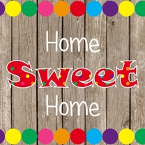 Home sweet home candy