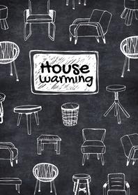 Uitnodigingen - Housewarming hippe meubels