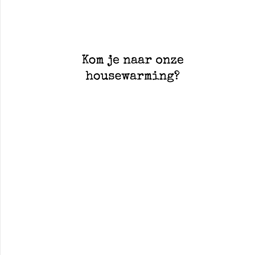 Housewarming pictogrammen zwart 3