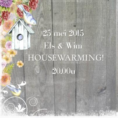 housewarming vogelhuis hout 2