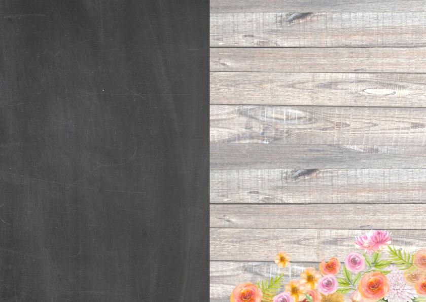 huwelijk chalkboard ring 3