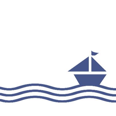 Huwelijksbootje blauw 3