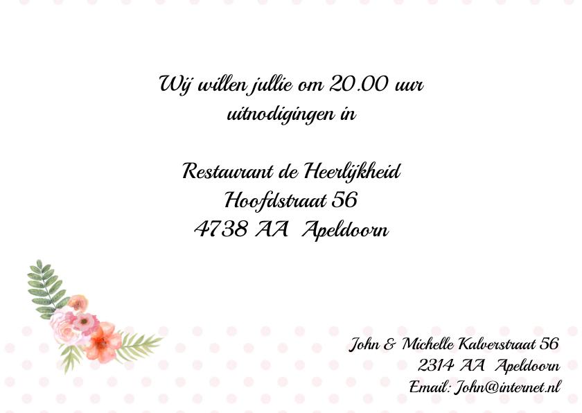Huwelijksjubileum aquarelhart 3