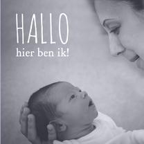 Geboortekaartjes - Ik, en mama of papa-isf