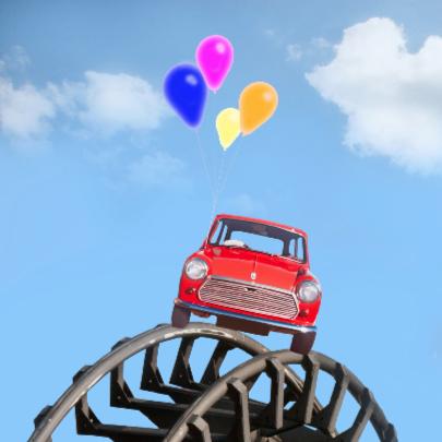 In de wolken met rijbewijs 2
