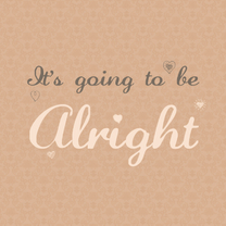 Sterkte kaarten - its going to be alright