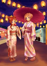 Kunstkaarten - Japans festival