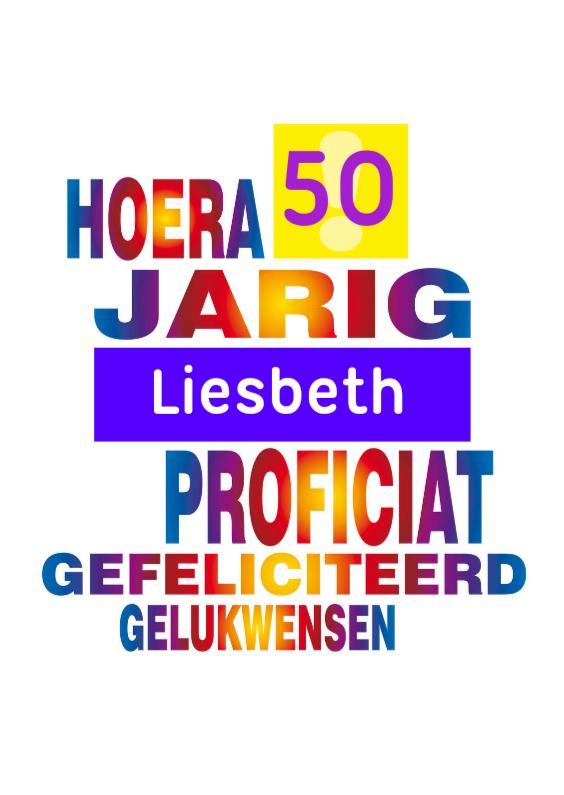 jarig 50 jarig 50 regenboog   Verjaardagskaarten | Kaartje2go jarig 50