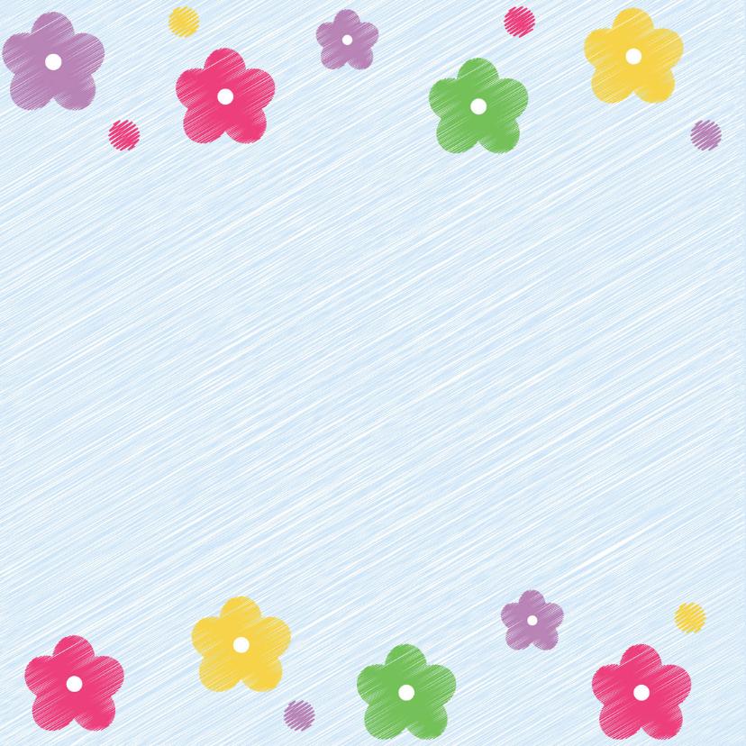 jarig bloemen kleurtjes 2