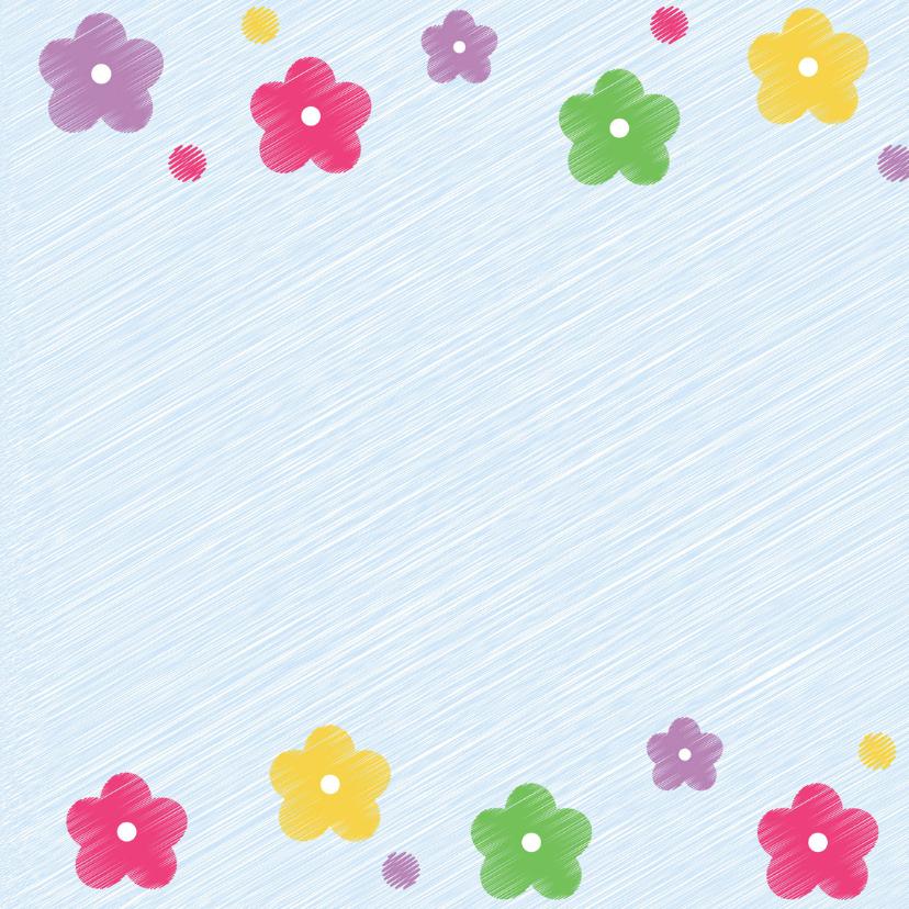 jarig bloemen kleurtjes 3