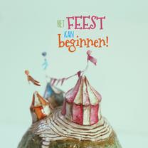 Verjaardagskaarten - Jarig - Festival Feest - MW