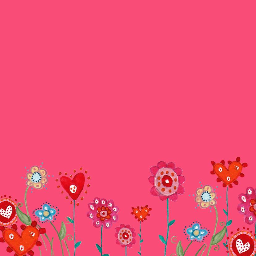 Jarig Ruitje Bloemen Ballonnen 2