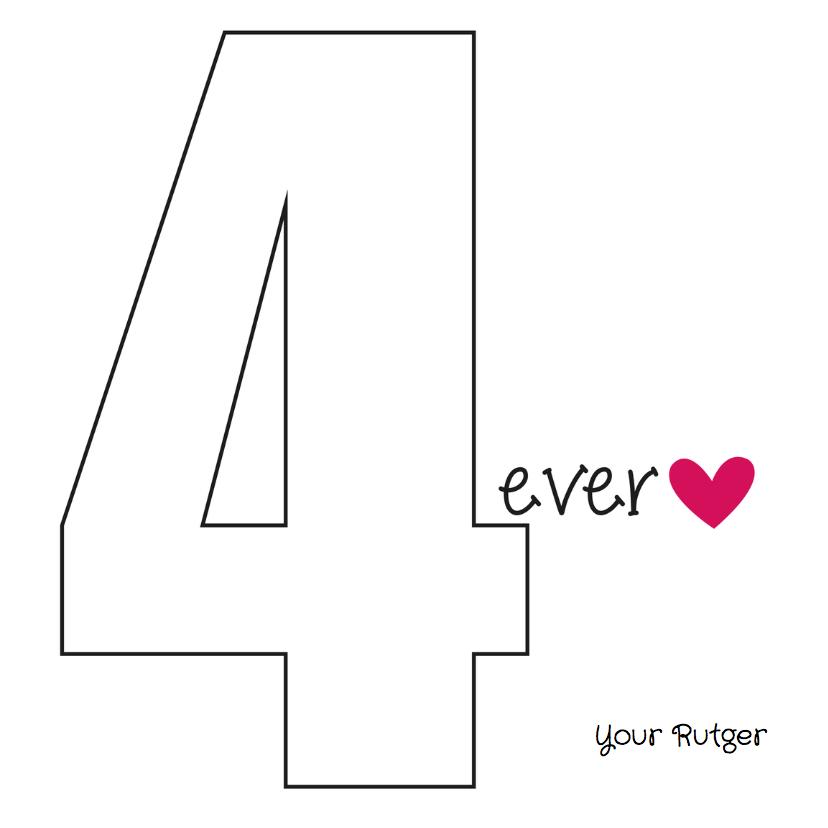 Jij bent mijn NUMBER 1 3