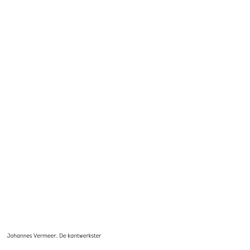 Johannes Vermeer. De kantwerkster 2