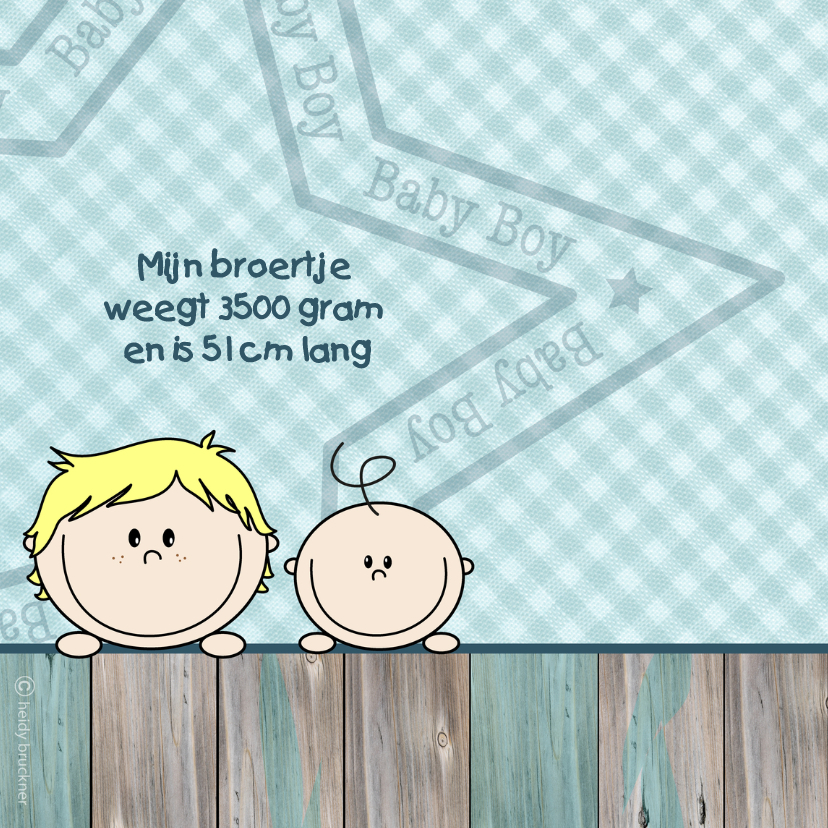 Jongen geboren GROTE BROER 2